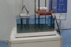沿岸プラント模型