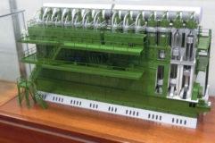 ディーゼル・エンジン模型